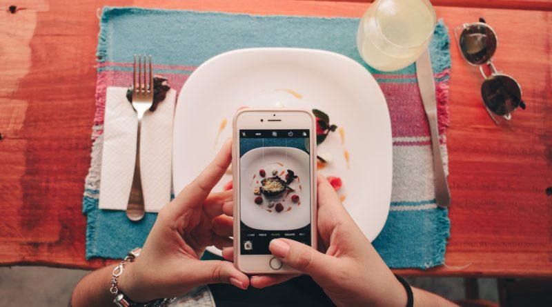 redes sociales de un restaurante