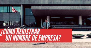 Registrar un nombre de empresa