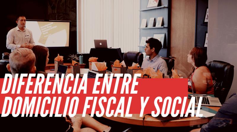 domicilio fiscal y social