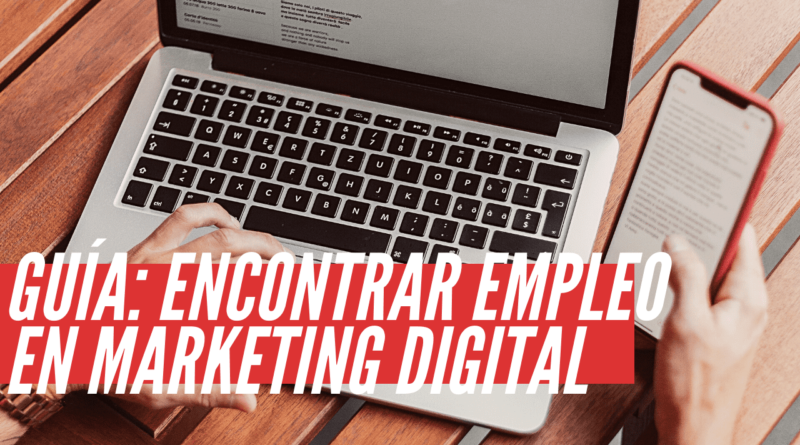 encontrar empleo en marketing digital