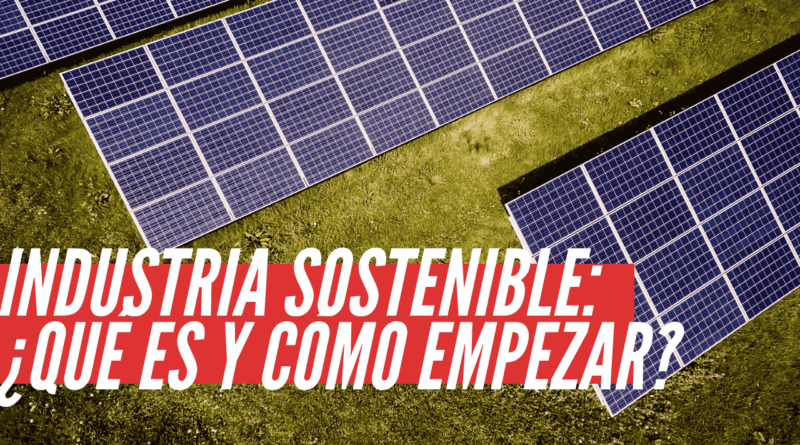 industria sostenible