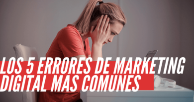 errores de marketing digital