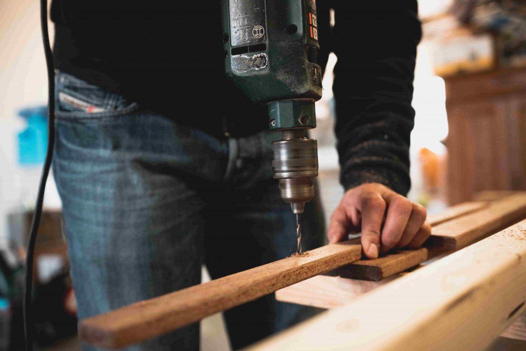 Herramientas de un carpintero con sus nombres
