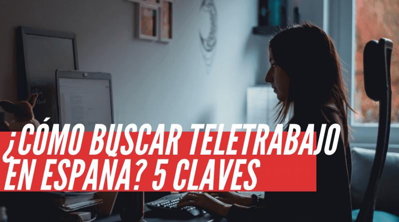 buscar teletrabajo en España