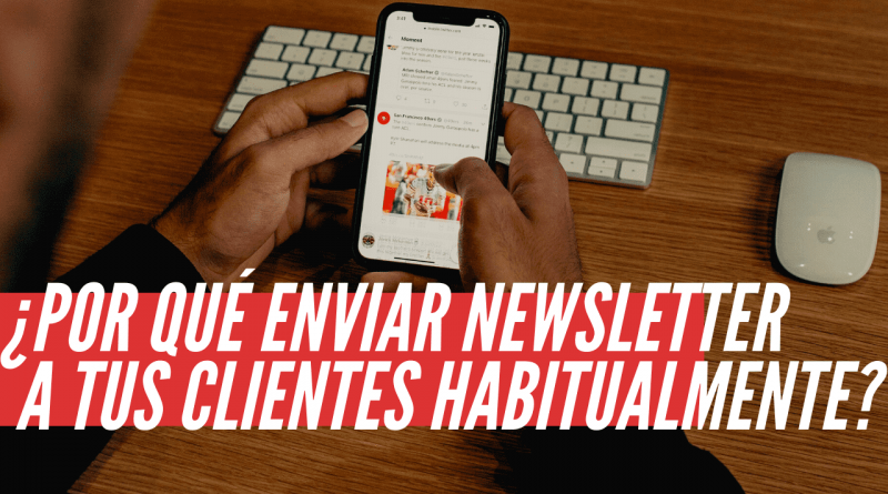 enviar newsletter a tus clientes
